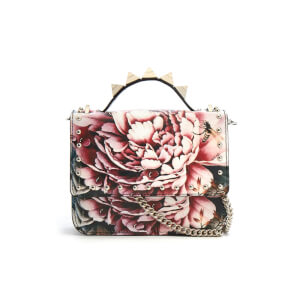 SALAR Women's Lulla Small Botanic Bag - Nero/Printed