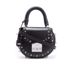 SALAR Women's Mimi Ring Bag - Nero