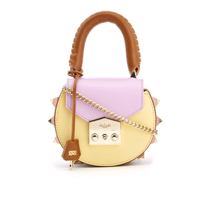 SALAR Women's Mimi Mini Bag - Marrone/Lilla