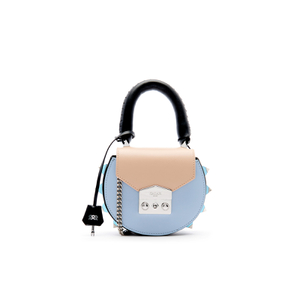 SALAR Women's Mimi Mini Bag - Nero/ Carne