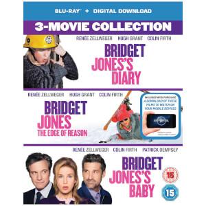 Bridget Jones's Diary/Bridget Jones: The Edge Of Reason/Bridget Jones's Baby Boxset