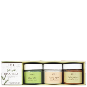 FarmHouse Fresh Quick Recovery - 3 Piece Face Mask Sampler Set
