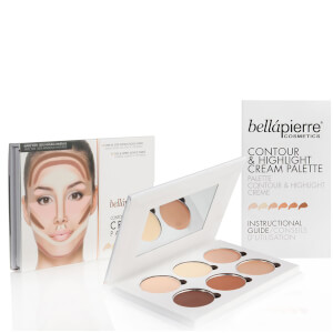 Palette Crème Contour & Highlight Bellápierre Cosmetics