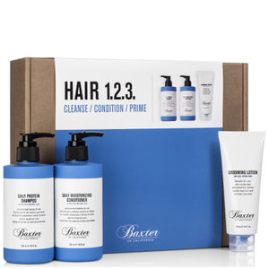 Baxter of California Hair Care 1-2-3