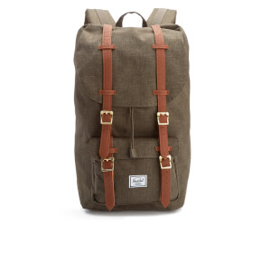 Herschel Supply Co. Men's Little America Backpack - Canteen Crosshatch/Tan