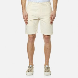 Universal Works Men's Deck Shorts - Ecru