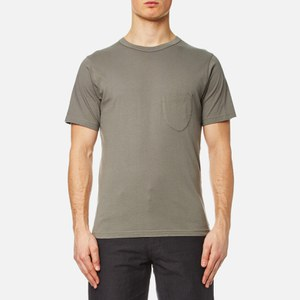 Universal Works Men's Pocket T-Shirt - Dk Stone