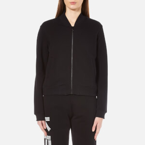 KENZO Women's Embroidered Tiger Cotton Bomber Jacket - Black