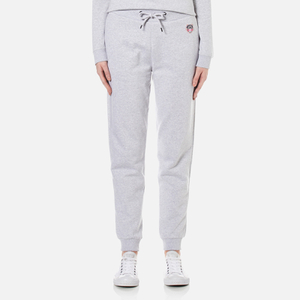 KENZO Women's Tiger Crest Light Brushed Molleton Trackpants - Light Grey