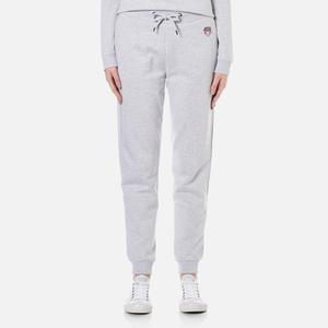 KENZO Women's Tiger Crest Light Brushed Molleton Trackpants - Light Grey