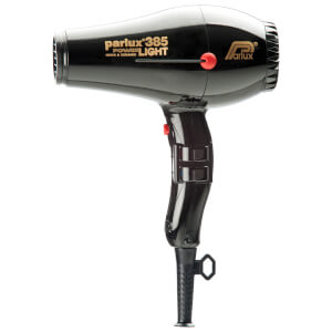 Parlux 385 Power Light Ceramic & Ionic Hair Dryer 2150w - Black