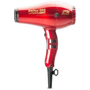 Parlux 385 Power Light Ceramic & Ionic Hair Dryer 2150W - Red