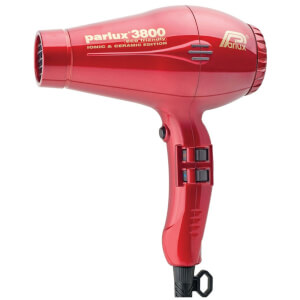 Parlux 3800 Eco Friendly Hair Dryer 2100W - Red
