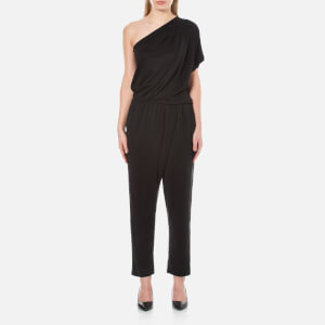 By Malene Birger Women's Disquon One Shoulder Jumpsuit - Black