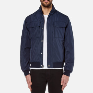 Michael Kors Men's Ea1 Hybrid Bomber Jacket - Midnight