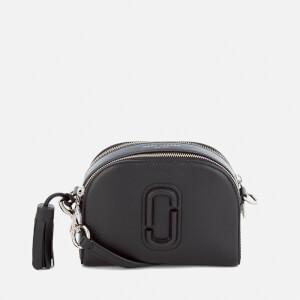 Marc Jacobs Women's Shutter Leather Shoulder Cross Body Bag - Black