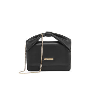 Love Moschino Women's Bow Shoulder Bag - Black