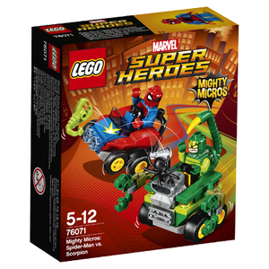 LEGO Superheroes Mighty Micros: Spider-Man contre Scorpion (76071)