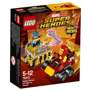 LEGO Superheroes Mighty Micros: Iron Man vs. Thanos (76072)