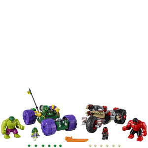 LEGO Marvel Superheroes: Hulk vs. Red Hulk (76078): Image 2