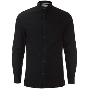 Jack & Jones Men's Core Wheel Long Sleeve Shirt - Black
