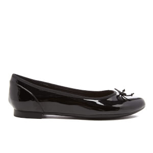 Clarks Women's Couture Bloom Patent Ballet Flats - Black