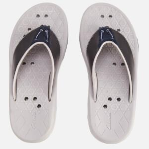 Clarks Men's Bosun Coast Nubuck Toe Post Sandals - Navy