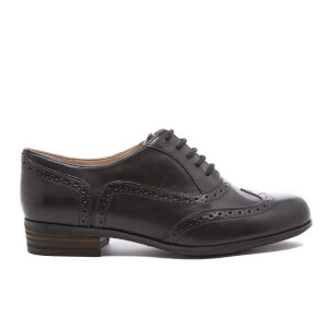 Clarks Women's Hamble Oak Leather Brogues - Black
