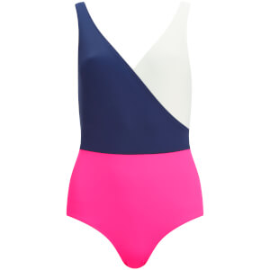 Solid & Striped Women's The Ballerina Swimsuit - Navy/Cream/Pink