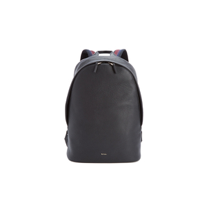 Paul Smith Men's City Webbing Leather Backpack - Black