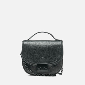 Loeffler Randall Women's Mini Cross Body Saddle Bag - Black