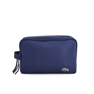 Lacoste Men's Toilet Kit Wash Bag - Navy