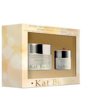 Kat Burki Vitamin C Intensive Face Cream Iconic Ornament Set - Limited Edition (Worth $60)