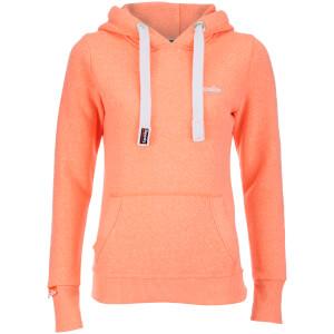 Superdry Women's Orange Label Hoody - Phosphorescent Coral Snowy