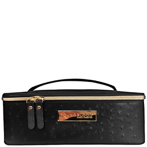 Youngblood Ostrich Makeup Bag