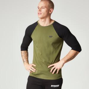 Męski T-shirt Bejsbolowy Myprotein - Khaki