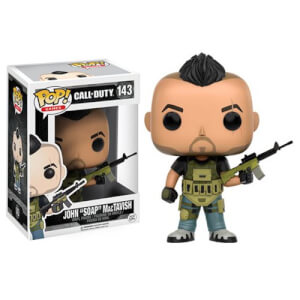 Figura Pop! Vinyl John SOAP MacTavish - Call of Duty