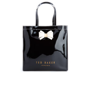 Ted Baker Women's Alacon Colour Block Bow Large Icon Bag - Black