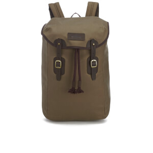 Barbour Men's Wax Leather Backpack - Stone