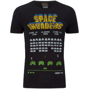 Camiseta Atari Space Invaders - Hombre - Negro