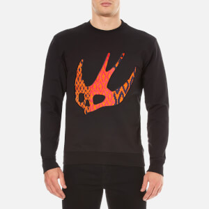 McQ Alexander McQueen Men's Clean Crew Neck Sweater - Darkest Black