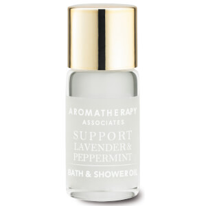 Aromatherapy Associates Support Lavender & Peppermint Bath & Shower Oil 3ml