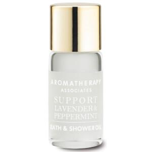 Aromatherapy Associates Support Lavender & Peppermint Bath & Shower Oil 3ml
