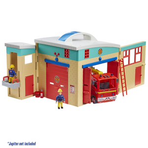 Fireman Sam Electronic Ponty Pandy Fire Station Playset