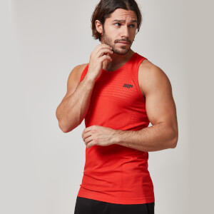 Myprotein Men's Seamless Tank – Red
