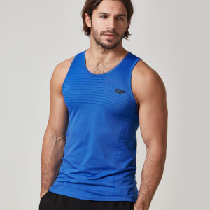 Myprotein Men's Seamless Tank – Royal Blue