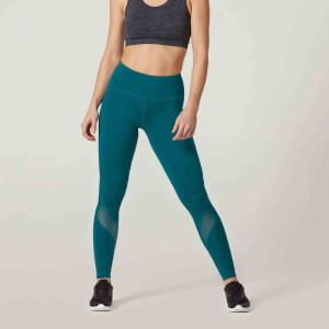 Myprotein Core Damen Leggings lang – Türkis