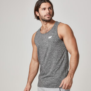 Myprotein Men's Core Tank – Charcoal