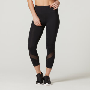Myprotein Women's Heartbeat Cropped Leggings