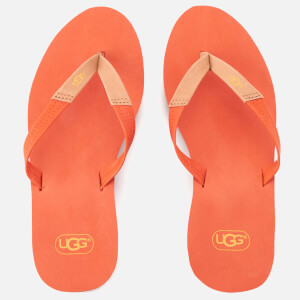 UGG Women's Ruby Wedged Flip Flops - Fire Opal